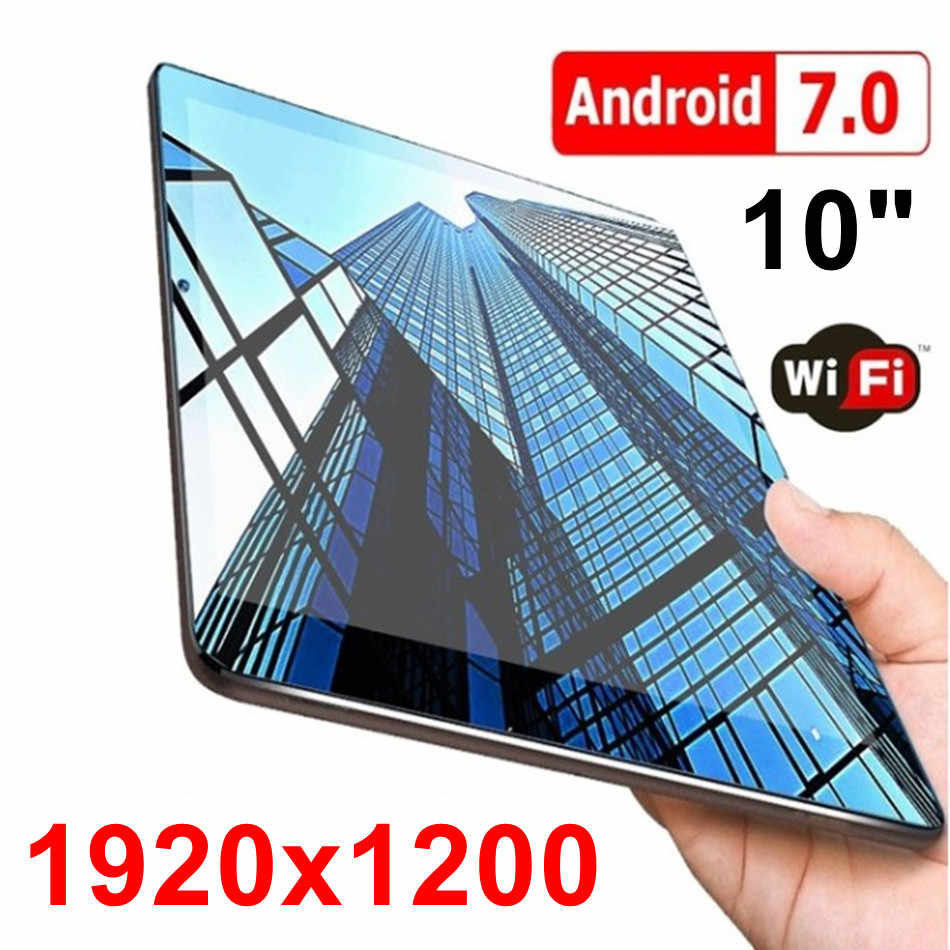Baru 10 Inci HD IPS 1920X1200 Tampilan Octa Core Tablet PC Bluetooth Dual Kamera Google Play Digunakan dimuat Tablet 7 8 9 10 10.1