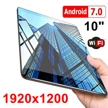 New 10 inch HD IPS 1920X1200 Display Octa Core Tablets PC Bluetooth Dual Camera Google Play Pre-loaded tablet 7 8 9 10 10.1 10 1 inch official original 4g lte phone call google android 7 0 mt6797 10 core ips tablet wifi 6gb 128gb metal tablet pc
