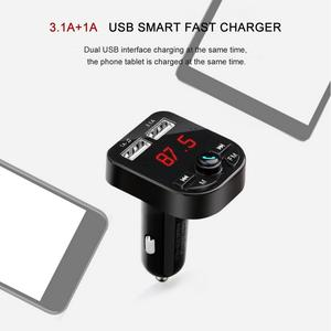 Image 4 - Car MP3 Player Bluetooth Hands   Free P3 Supplies Cigarette Lighter Car Charger Pl Vehicle   Mounted Receiver 1A+3.1A