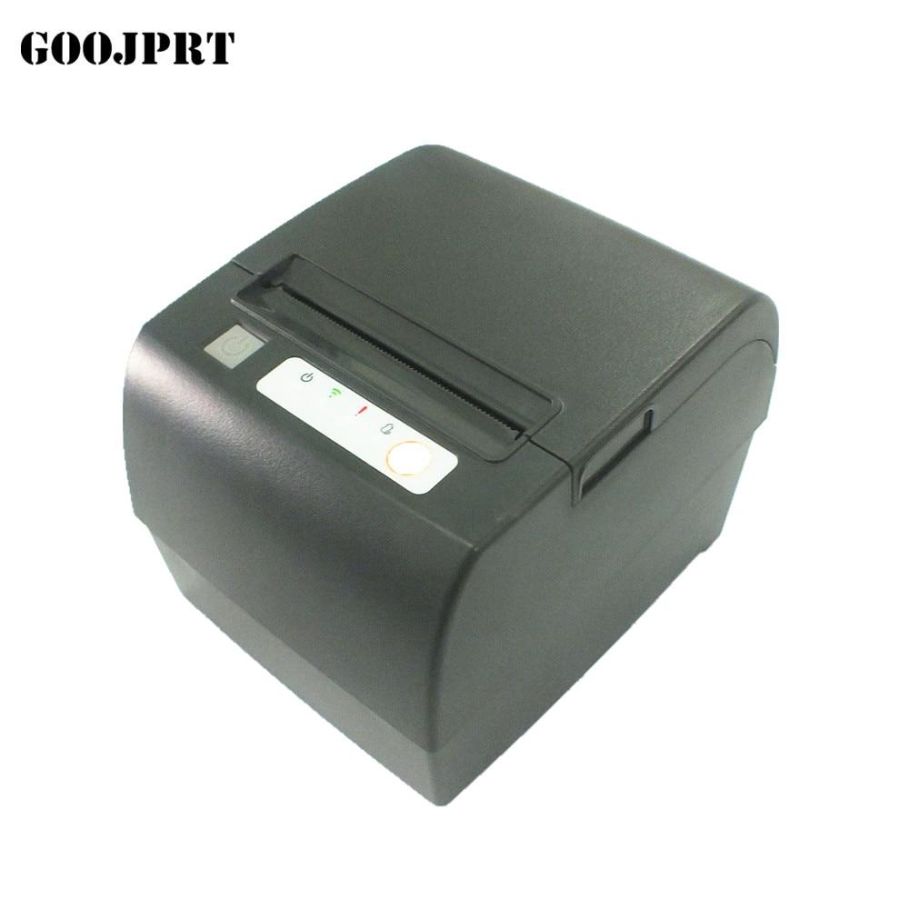 80mm Thermal Receipt Printer Restaurant Kitchen POS Printer USB+Serial+Ethernet Wifi Bluetooth Printe