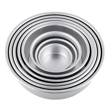 8 inch Aluminum Non-stick Round Shaped Bakeware for Baking Cakes and Pastries in Home and Bakery