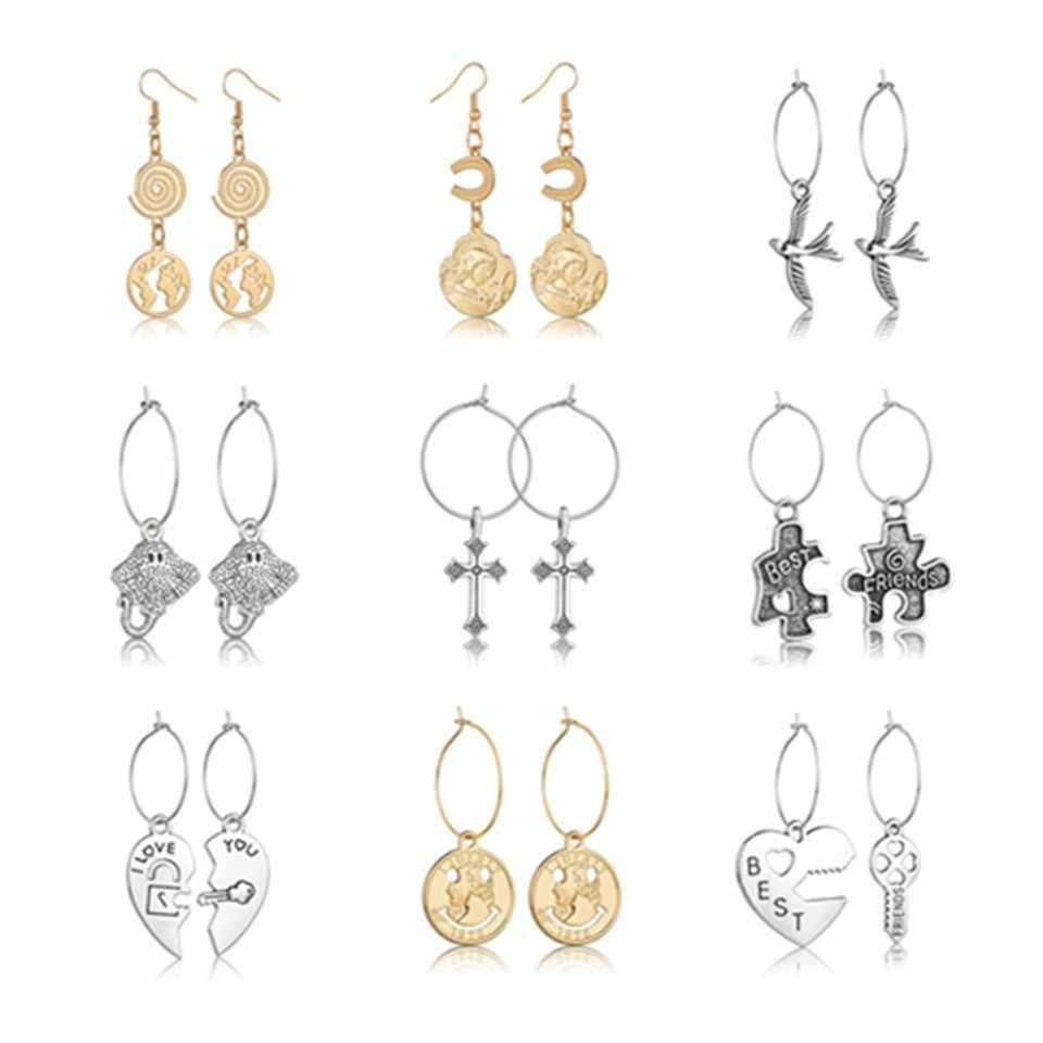 Wholesale Women Geometric Dangle Drop Earrings Fashion Jewelry Trendy Free Shipping Party Earrings Gifts For Women Girls