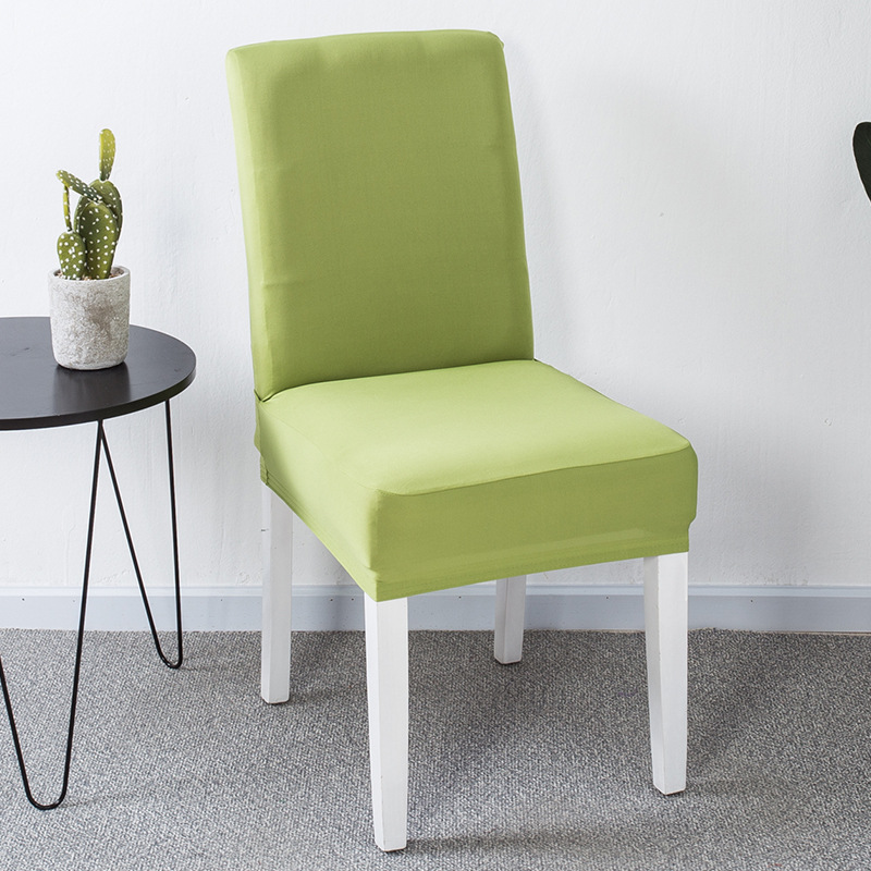 White Dining Room Chair Covers: YRYIE Lycra Spandex Stretch Green Chair Back Covers For