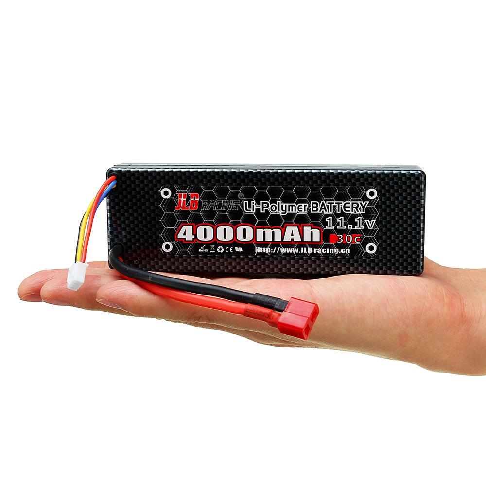 1 PCS/2 PCS JLB Racing 11.1 V 4000 mAh 30C 3 S Lipo Batterie T Plug Pour 11101 21101 31101 J3 1/10 Rc Voiture RC Modèles De Rechange Partie DIY