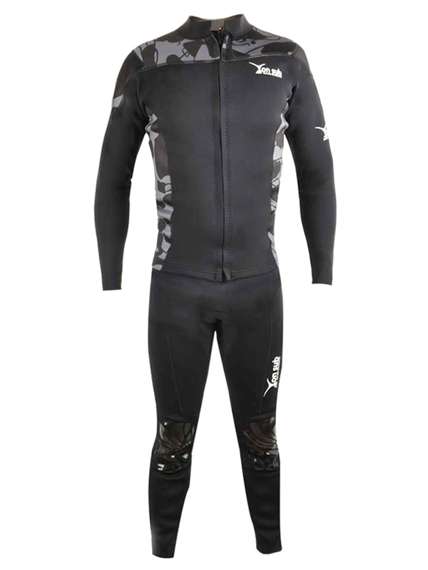 YONSUB YW6001 2.0mm Neoprene Man Wetsuits Durable Long-Sleeved Waterproof Diving Suit Prevent Sunburn Keep Warm WetsuitsYONSUB YW6001 2.0mm Neoprene Man Wetsuits Durable Long-Sleeved Waterproof Diving Suit Prevent Sunburn Keep Warm Wetsuits