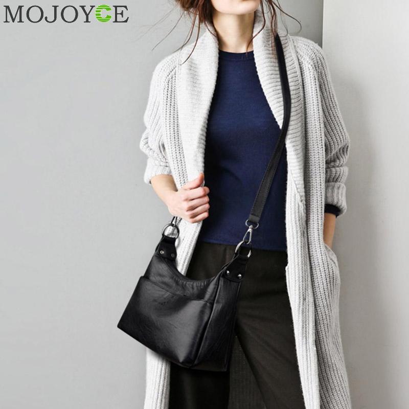 Designer Women Solid Handbag Female PU Leather Bags Handbags Ladies Portable Shoulder Bag Office Ladies Hobos Bag Totes 2