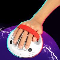 Electric Shock Lie Detector Party Joke Polygraph Truth Testing Game Toy Silver White