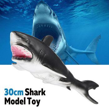 02a61fa5d ... Sealife animales conjuntos azul tiburón ballena tiburón tigre tiburón  ballena asesina laúd niños aprendizaje juguete de los niños de regalo de  Navidad