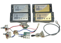 Set of 2 Original Epi LP SG Electric Guitar ProBucker Humbucker Pickup with Wiring Harness for QUICK CONNECT