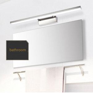 Image 4 - Chinese stijl wastafel wasbak led spiegel koplamp eenvoudige moderne badkamer spiegel blaker lamp AC85 265V