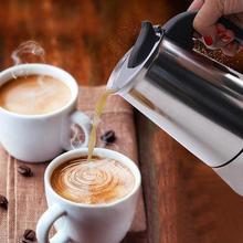 Нержавеющая сталь фильтр Плита Топ кофейник Мока Итальянский Перколятор для кофеварки инструмент кофе горшки кухня инструменты