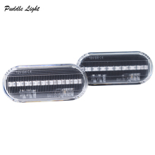 цена на 2x 18smd Led Side Marker Light for Ford C-Max Fiesta Focus Fusion Galaxy Turn Signals Indicator For Bora Golf Lupo Passat Polo