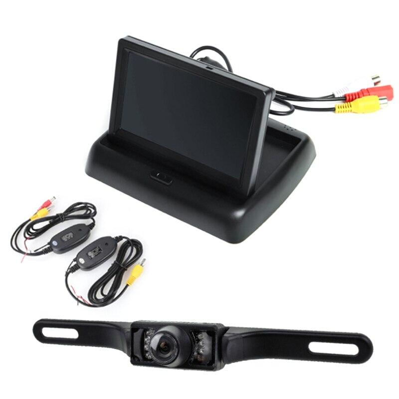 Wireless Ir Rear View font b Camera b font Car Reverse font b Camera b font
