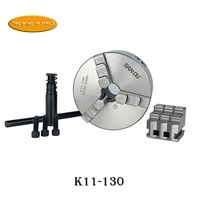 SAN OU 5 inch 3 Jaw Self Centering Chuck 130mm LATHE Chuck K11 130 with Wrench Screws Chuck     -