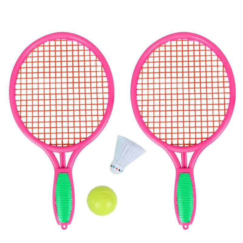 Strand Paddle Ball Spiel Badminton Holz Schläger Tennis Pingpong Strand Cricket Set Schläger Outdoor Spiel Für Erwachsene Kinder Battledore Grillen Schlägersportarten