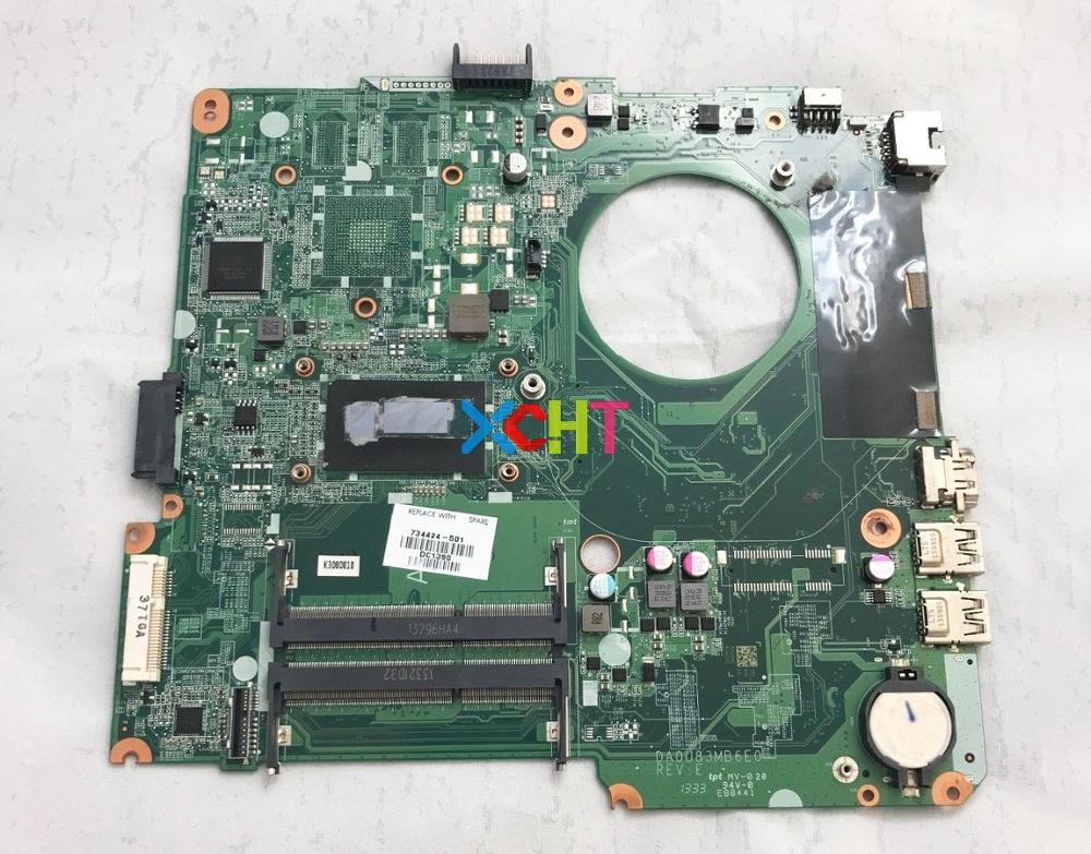 734424 501 734424 001 734424 601 for HP Pavilion 14 n Series w i3 4005U CPU DA0U83MB6E0 UMA Laptop Motherboard Mainboard Tested-in Laptop Motherboard from Computer & Office