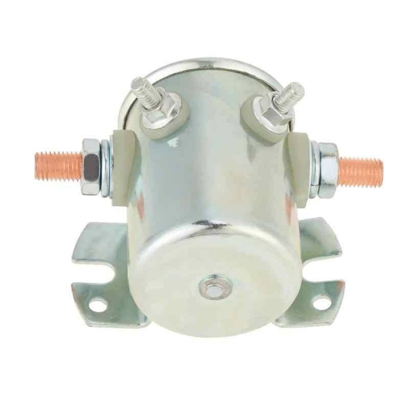 Hot 12V 200A Start Relais Staart Plaat Start Olie Pomp Magnetische Normaal Open Schakelaar Relais