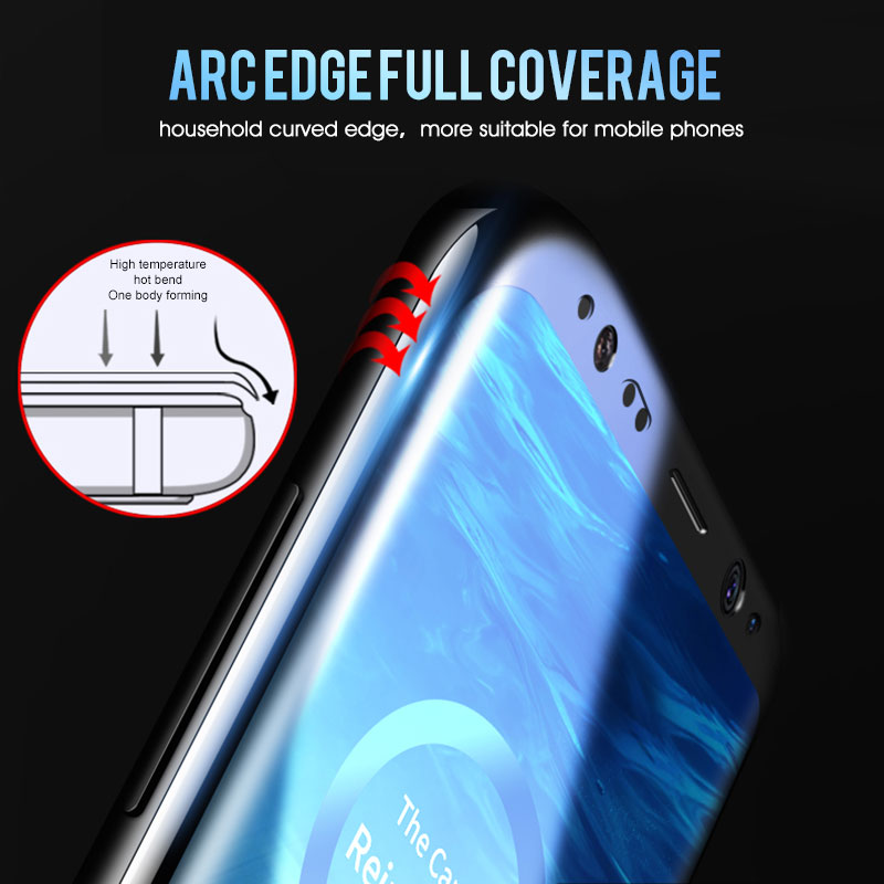 20D Full Curved Tempered Glass For Samsung Galaxy S8 S9 Plus Note 8 9 Screen Protector For Samsung S6 S7 Plus S8 Protective Film