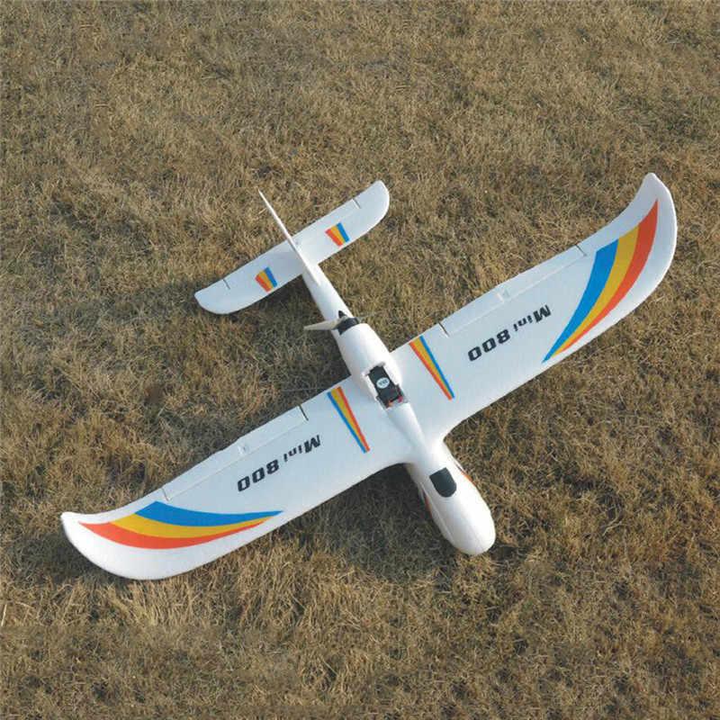 Upgrade 2019 Mini Surfer 800 800 Mm Spanwijdte Epp Vliegtuigen Zweefvliegtuigen Rc Vliegtuig Pnp Voor Kids Geschenken Outdoor Rc Modellen speelgoed