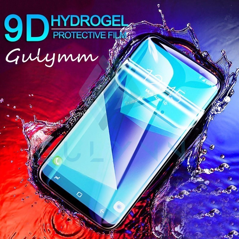 Soft Hydrogel Film 9D Full Cover For Samsung Galaxy A3 A5 A7 J 3 4 5 6 7 2017 2018 S 9 10 Plus A6s A8s Screen Protector HD Film