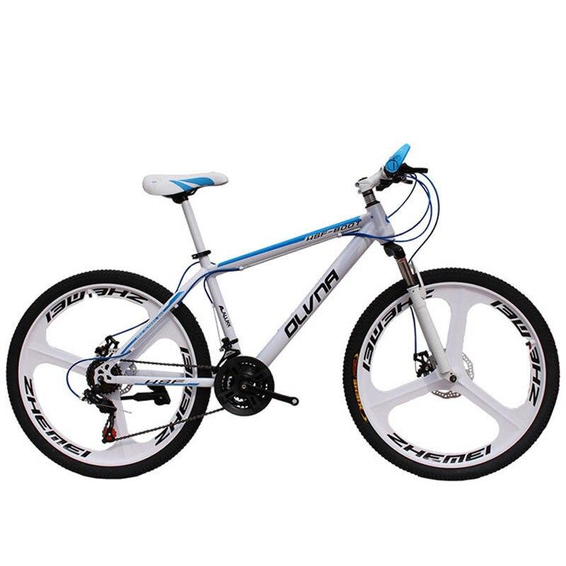 Promotion 26 pouces vélo double frein à disque bicicleta VTT vitesse étudiant fiets