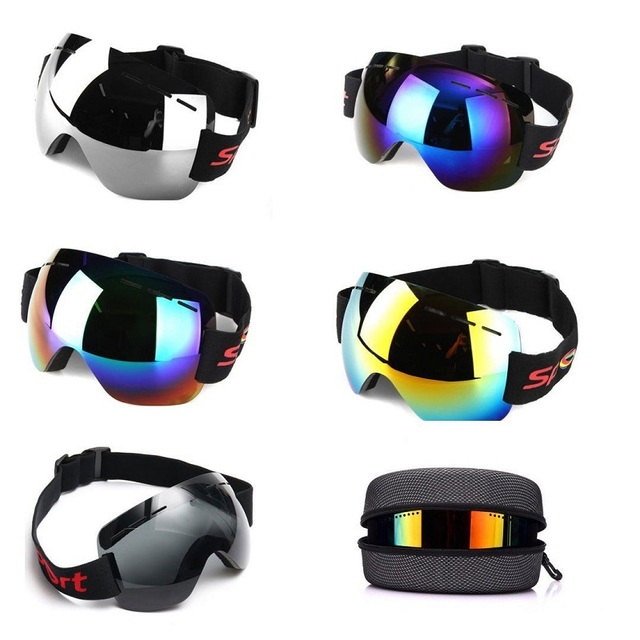 0abd07bca0d Ski Goggles Skiing Snowboarding Goggles Double Lens Anti-fog Wind Dust UV  Adult Ski Glass Snowboard Men Women Snow Goggles