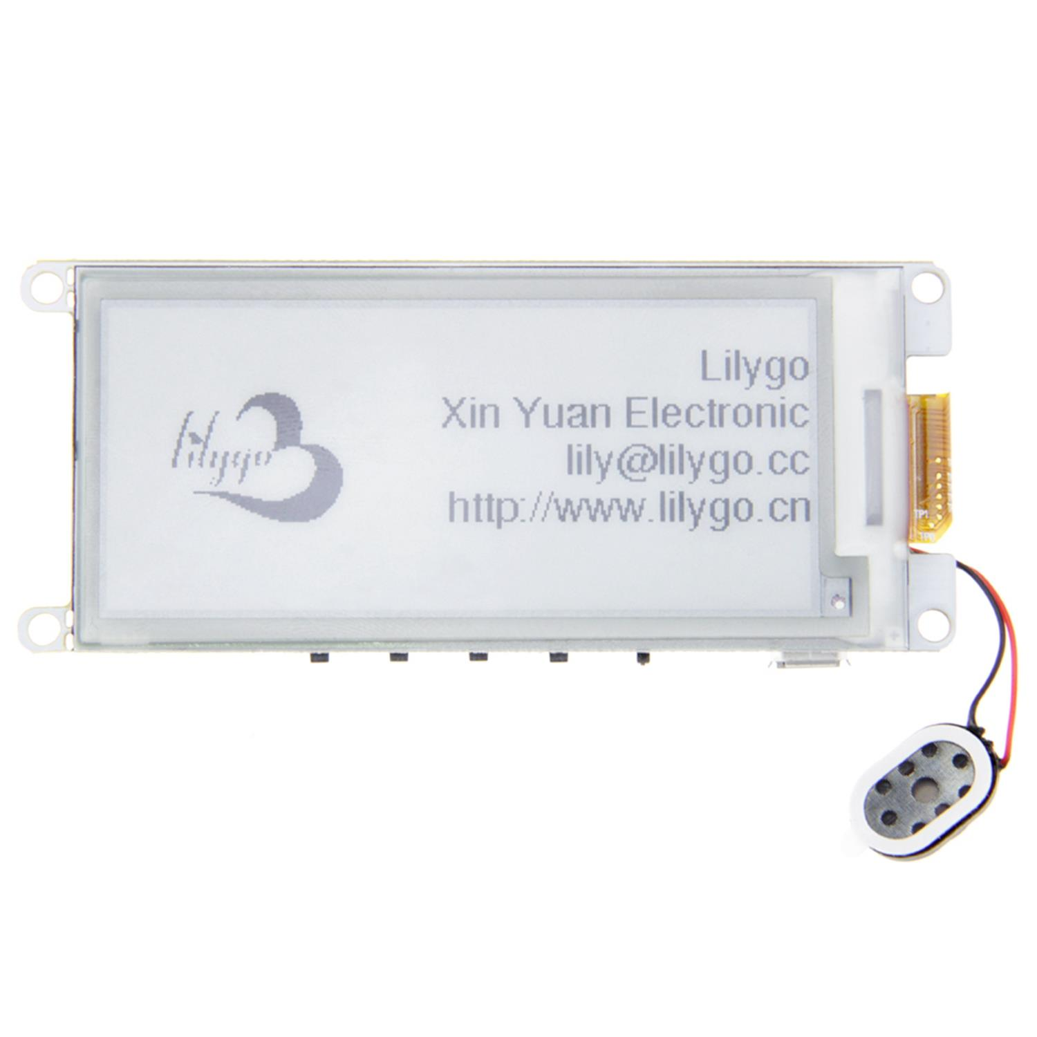Ttgo T5 V2.2 Esp32 2.9 Inch Epaper Display Module E-Ink Speakers Wifi Bluetooth Development Board