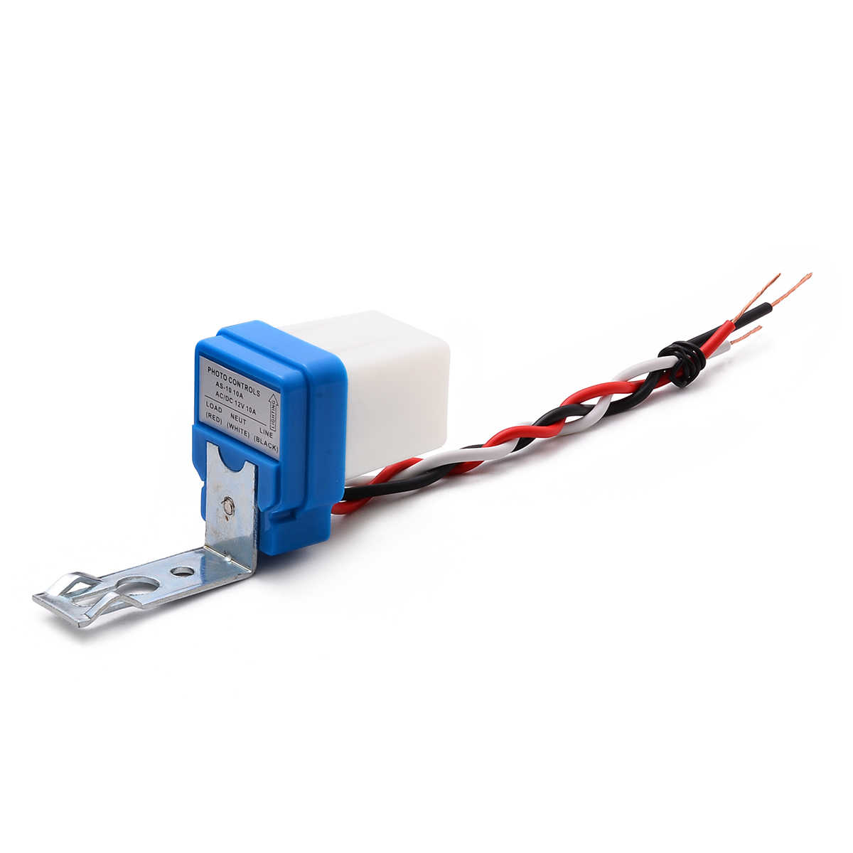 Automatic Night On Day Off Street Light Switch Photo Controls Sensor 12V 10A/_#