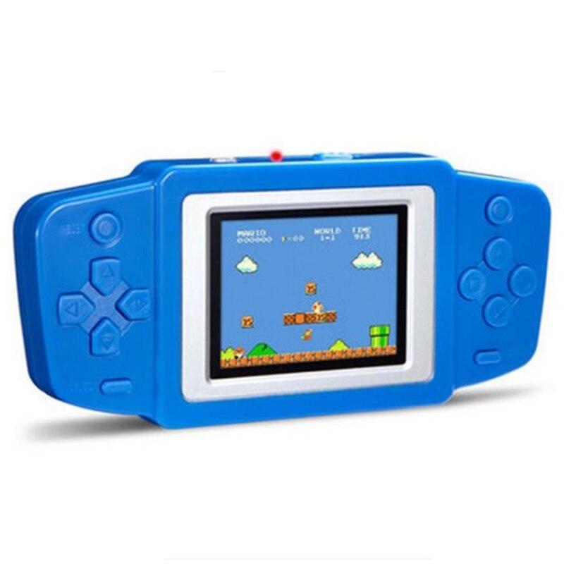 RüCksichtsvoll Handheld Spielkonsolen Eingebaute 268 Klassische Spiele 2,5 Zoll Bildschirm Kind Gaming Spieler Consola Farbe Display Mit Paket Portable Spielkonsolen