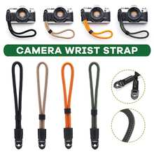 Adjustable Camera Wrist Strap Sling Strap Grip Cord For Leica For Sony