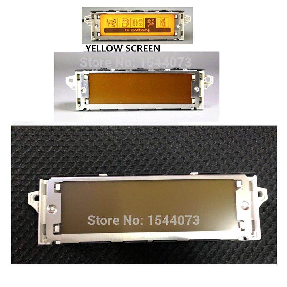 Prix usine Support d'écran USB + double zone Air Bluetooth moniteur d'affichage jaune 12 broches pour Peugeot 307 407 408 citroën C4 C5