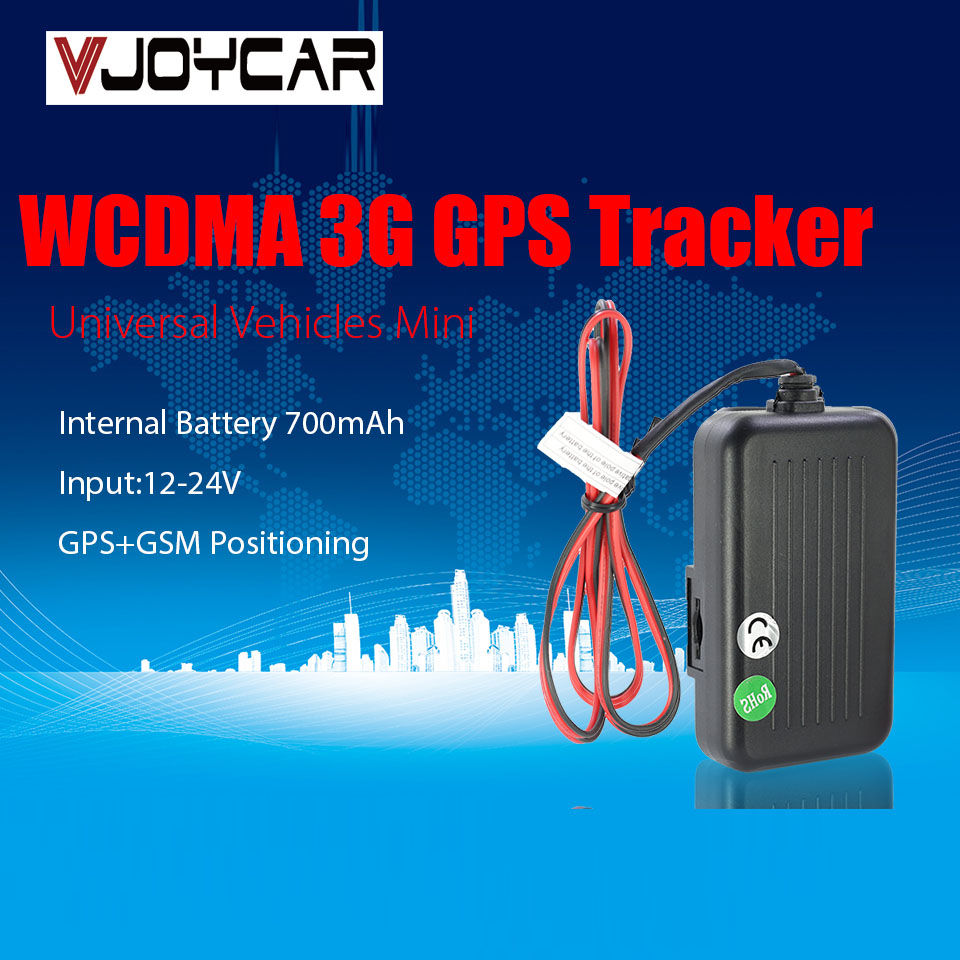 Traqueur GPS de véhicule réel WCDMA 3G pour voiture et moto 12-24 V suivi en temps réel et gestion de flotte traqueur de voiture GPS T0026G