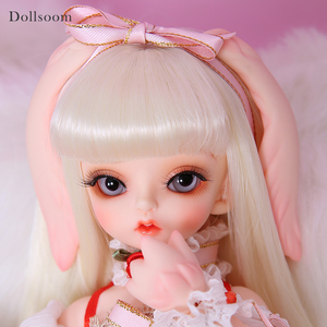 Image 2 - Bunny & Honey 1/6 Fashion Joint Resin Body Model Baby Luodoll Resin Figures High Quality Toys For Birthday Xmas BJD SD Doll