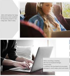Image 5 - Me alimentan portátil de 14,1 pulgadas Intel Atom X5 Z8350 Quad Core 2 GB RAM 32 GB ROM Windows 10 IPS pantalla con puerto HDMI WiFi Bluetooth 4,0
