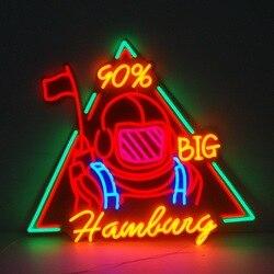 Su misura decorazione led flessibile al neon lettere