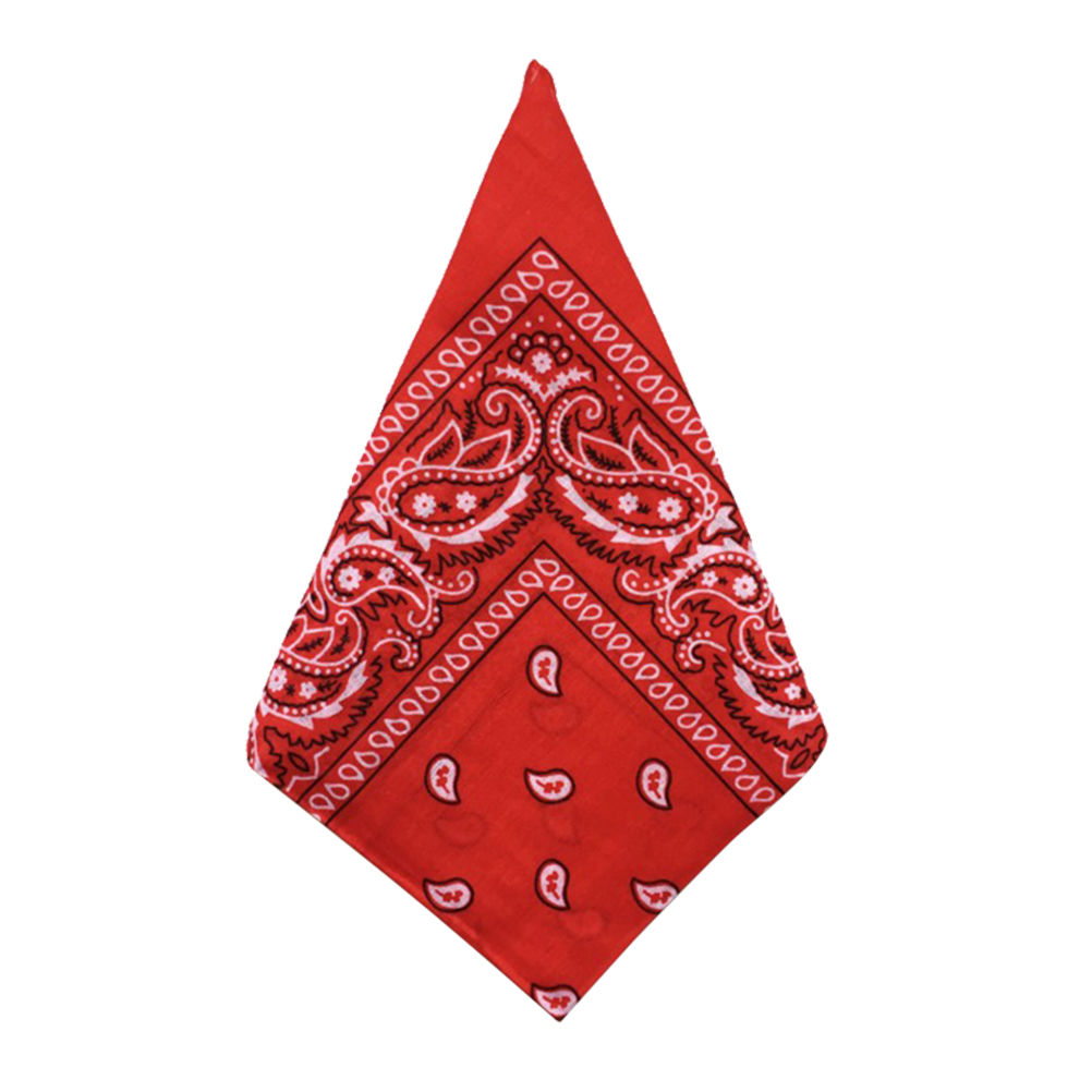 1pc Printed Bandana Breathable Beautiful Polyester Square Kerchief Hankerchief Neck Scarf Hand Towels Mocketer