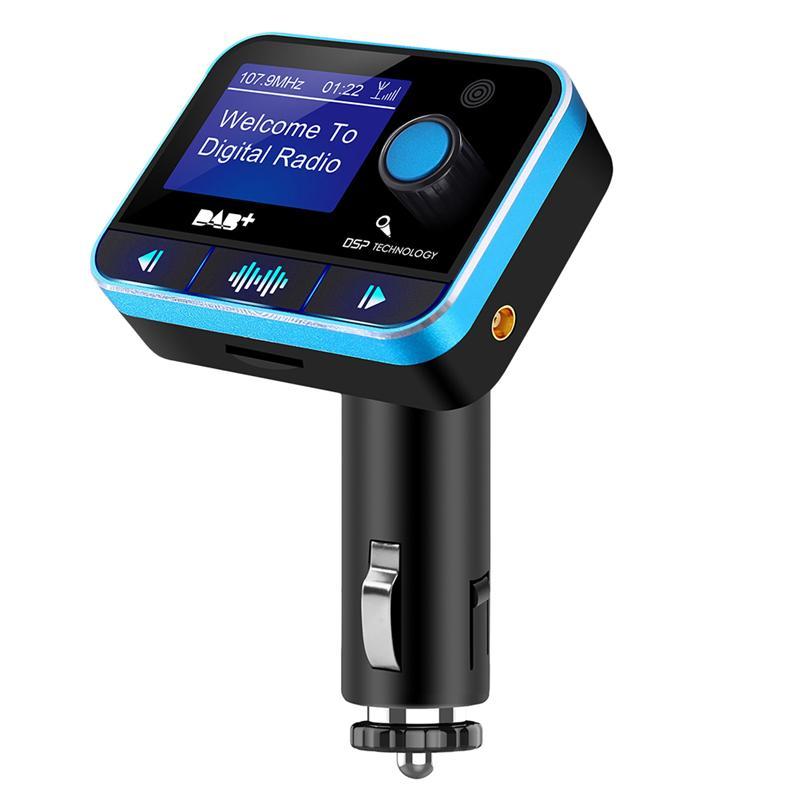 Adaptateur récepteur universel Bluetooth sans fil Auto Radio Tuner mains libres récepteur Radio numérique transmetteur FM