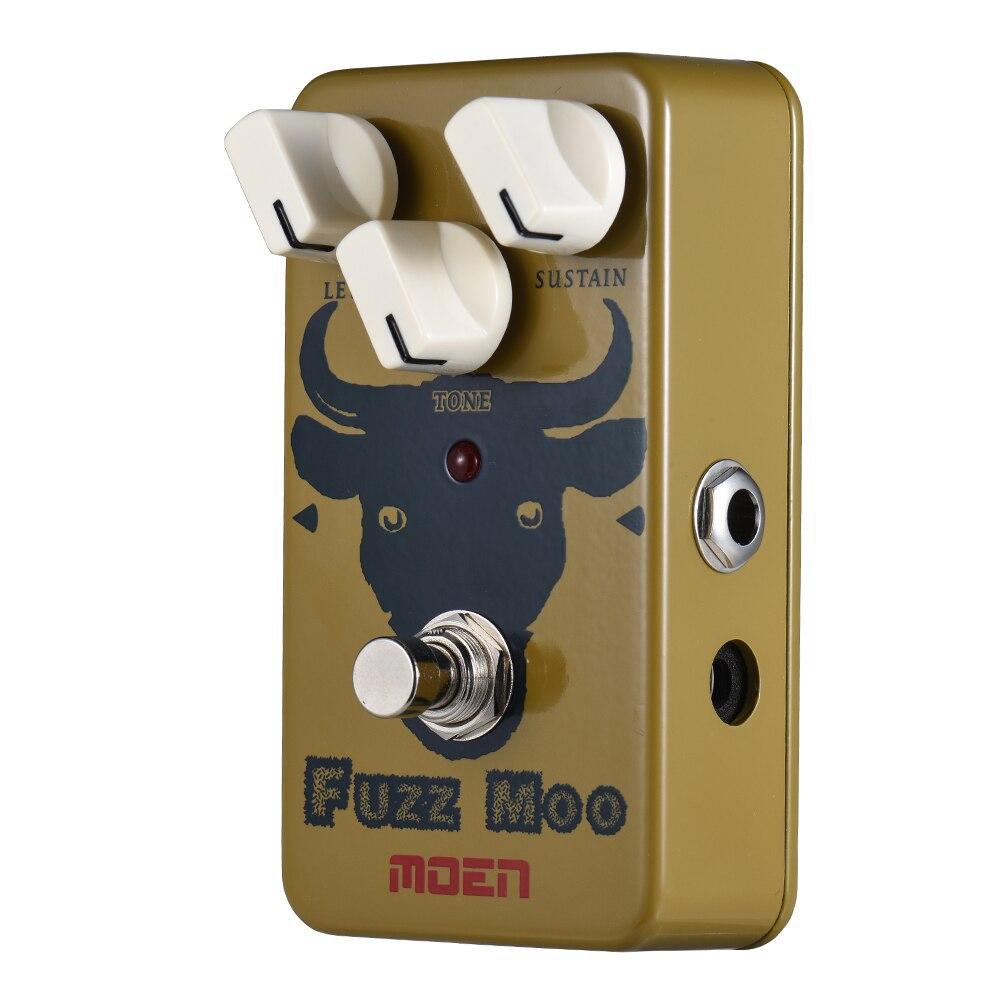 MOEN AM FZ Fuzz Moo Guitar Effect Pedal Fuzz Effects Guitar Pedal True Bypass Full Metal
