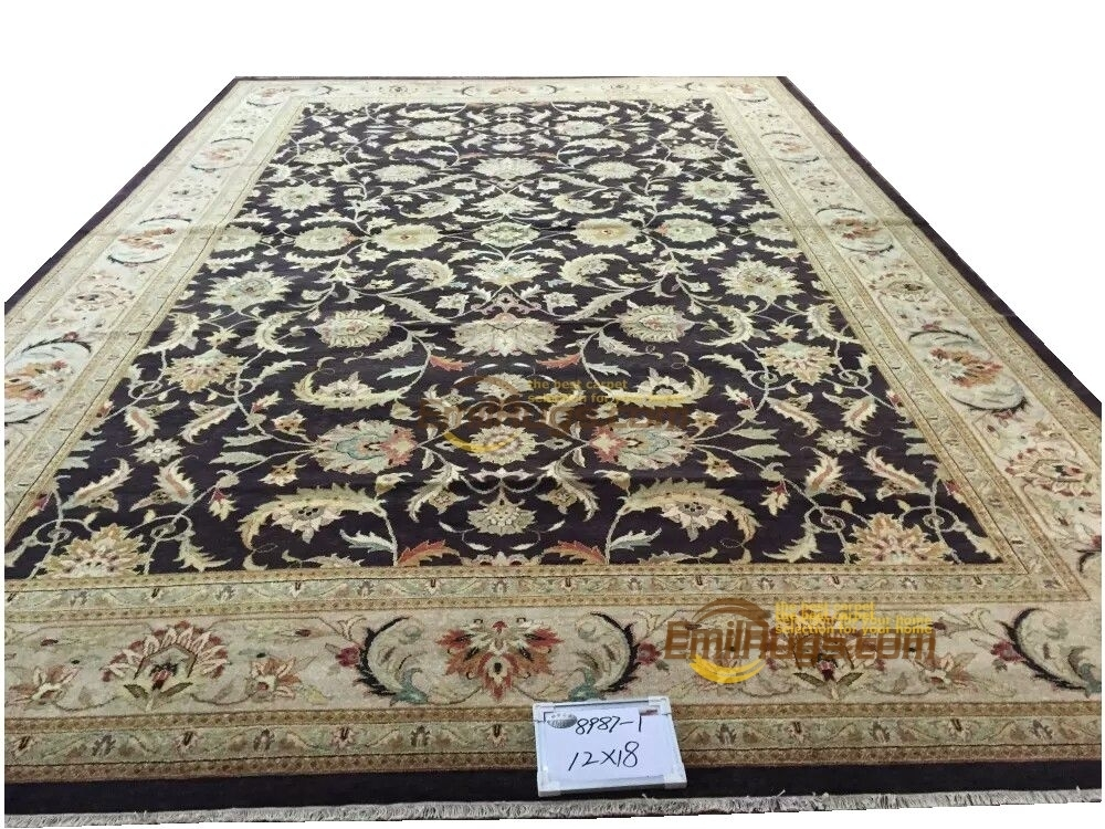 Original single export Turkish handmade carpets OUSHAK Ozarks pure wool carpet 8987-1 12x18gc47zieyg28Original single export Turkish handmade carpets OUSHAK Ozarks pure wool carpet 8987-1 12x18gc47zieyg28