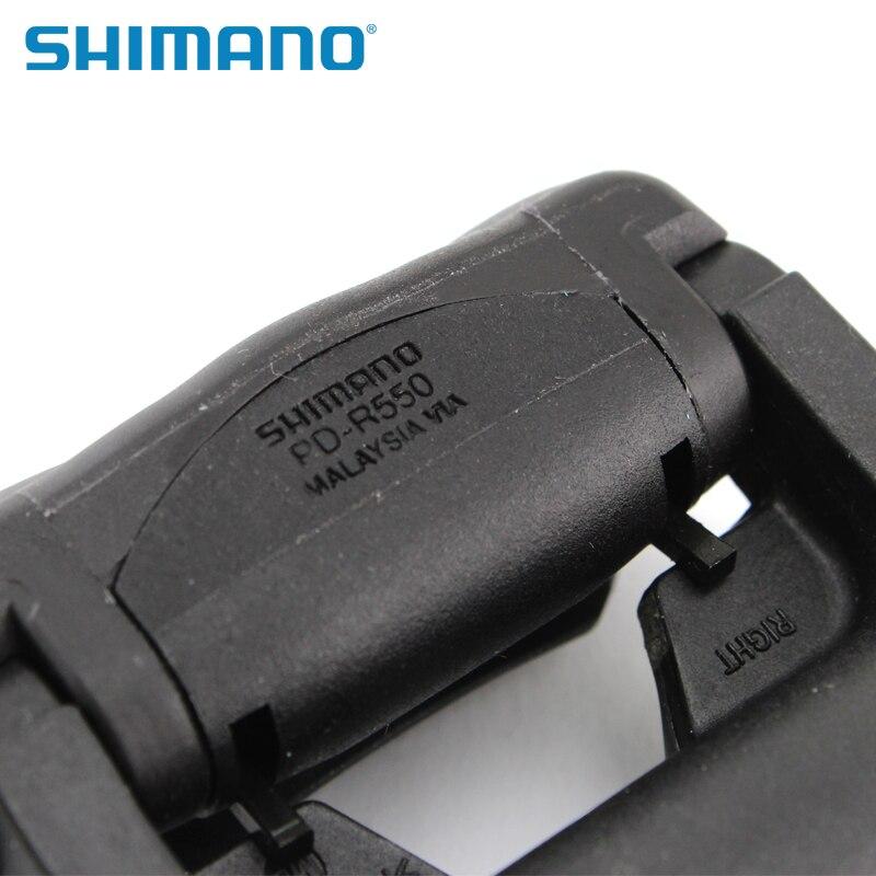 SHIMANO R550 route pédales de vélo SPD-SL Auto-Verrouillage SPD Pédales Composants En Utilisant pour Vélo Racing PD-R550 PD-R540 Pédales - 3