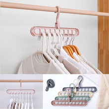 1 PC Space Saver Hangers Wonder Magic Clothes Closet Organizer Hook Rack