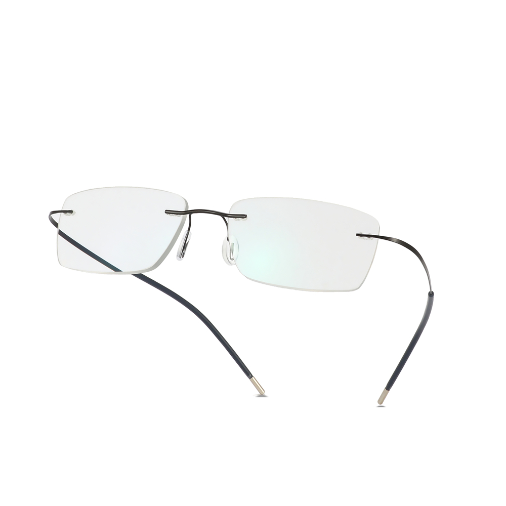 Image 5 - Titanium Rimless Glasses Myopia Glasses Photochromic glasses Men Women Chameleon Glasses Lens with Diopters  1.0 1.5 2.0 2.5 3.0-in Men's Eyewear Frames from Apparel Accessories