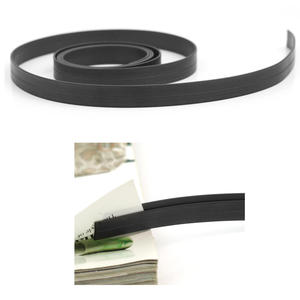 Feet Long Rubber Self Adhesive Flexible Soft Magnetic Tape Magnet DIY Craft Strip for Home Shop School Office 100cm x 1cm