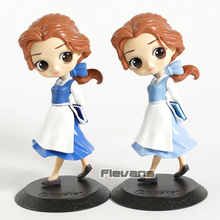 Q Posket Characters Beauty and Beast Belle Country Style PVC Figure Collectible