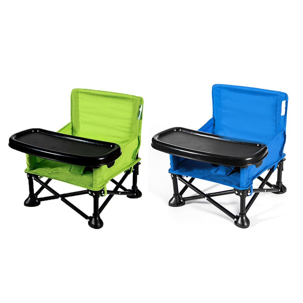 Enfants Portable multifonctionnel Table à manger enfant siège manger apprentissage chaise enfants à manger chaise pliante enfants peuvent s'asseoir R