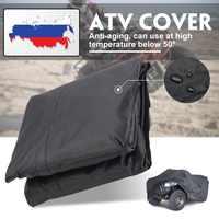 Noir universel M/XL 190 T étanche Quad ATV couverture véhicule Scooter moto couverture