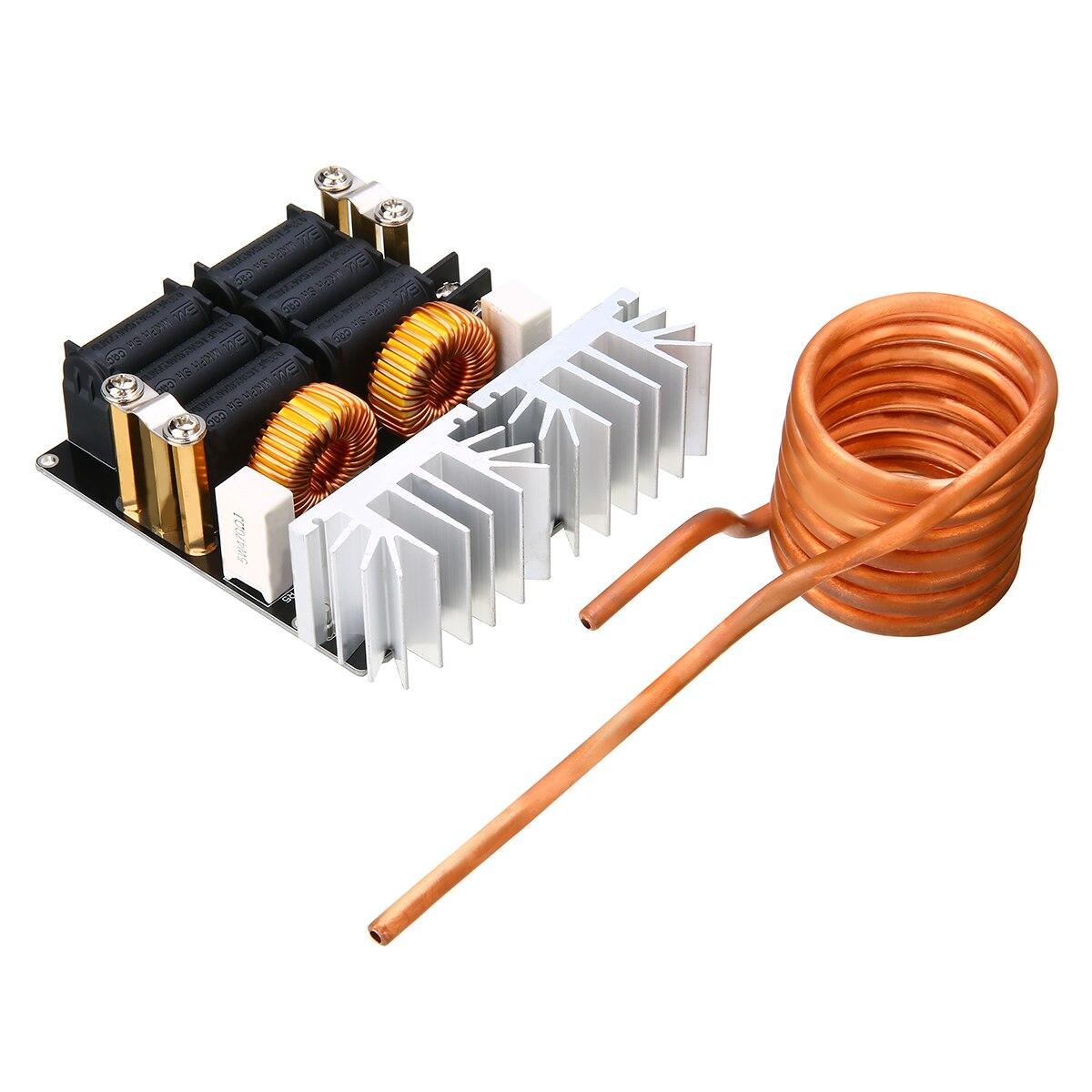 1 pièce/ensemble Durable ZVS 1000 W basse tension Induction Module de chauffage panneau bricolage chauffage avec bobine Tesla pour le traitement de chauffage - 2