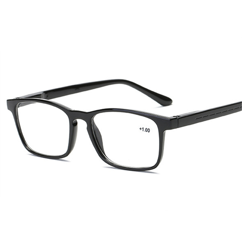 XojoX Fashion Reading Glasses Men Women  Anti-fatigue Hyperopia Prescription Presbyopic Eyeglasses Diopter Glasses +1.0 1.5 2.0
