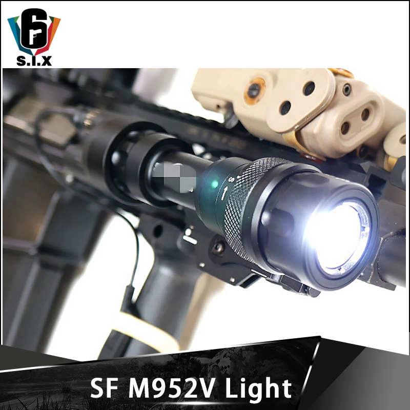 Element Softair Weapon Hunting Light M952V Flashlight 380Lumen Tactical Gun Light