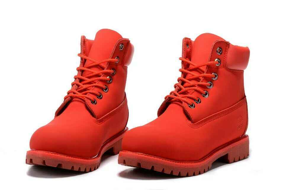 TIMBERLAND Women Bright All Red Showy